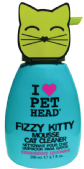 Pet Head Fizzy Kitty Mousse 190 ml STRAW/LEMON
